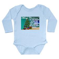 Hockey Christmas Cards & Gift Long Sleeve Infa