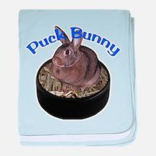 Puck Bunny baby blanket
