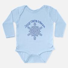 Happy Winter Solstice Long Sleeve Infant Bodysuit