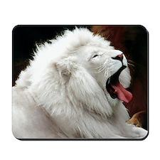 WHITE LION Mousepad