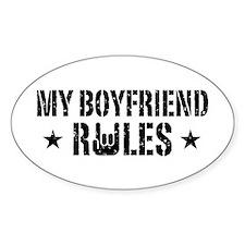 My Boyfriend Rules Decal
