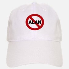 Anti-Alan Baseball Baseball Cap