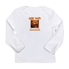 Alex Says Raaawr (Lion) Long Sleeve Infant T-Shirt