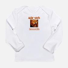 Alex Says Raaawr (Lion) Long Sleeve Infant T-Shirt