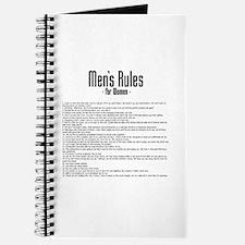 Men's Rules Journal