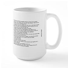 Men's Rules Coffee Mug