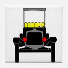 Vintage Cars Tile Coaster