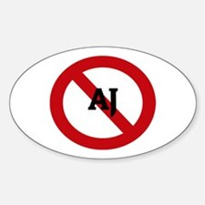 Anti-Aj Oval Decal