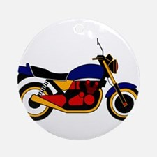 Vintage Cars Ornament (Round)