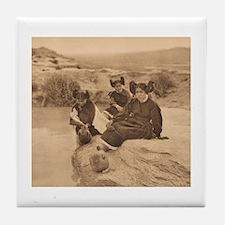 Evening in Hopi Land Tile Coaster