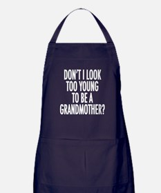 Don't I look too young to be Apron (dark)