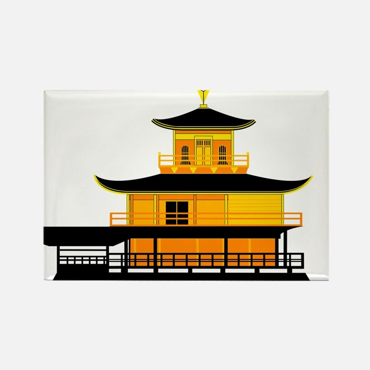 Cute Kyoto Rectangle Magnet