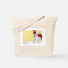 Unique Border collie puppy Tote Bag