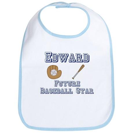 Edward - Future Baseball Star Bib