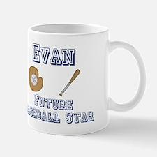 Evan - Future Baseball Star Mug