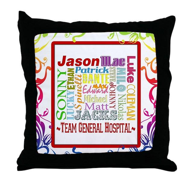 Throw Pillows Dollar General : Team General Hospital Throw Pillow by buzzedition