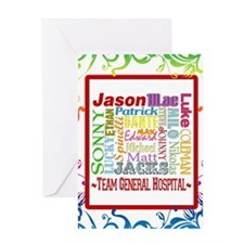 Team General Hospital Greeting Card