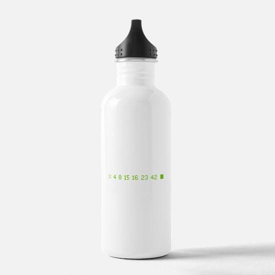 4 8 15 16 23 42 Water Bottle