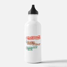 New Moon Papercut Water Bottle