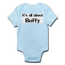 It's all about Buffy Infant Creeper