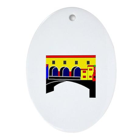 Italian West Coast Ornament (Oval)