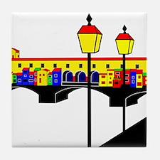 Italian West Coast Tile Coaster
