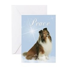 Magic Sheltie Xmas Card