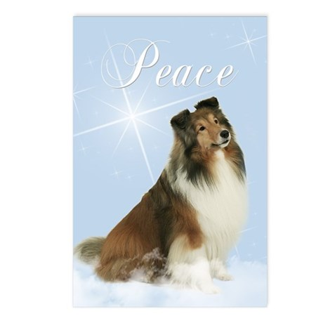 Magic Sheltie Postcards (Package of 8)