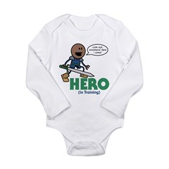 Roy: Hero (In Training) Long Sleeve Infant Bodysui
