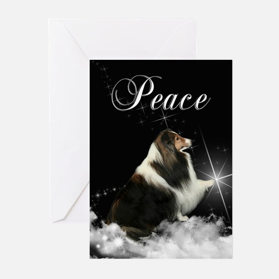Magic Sheltie Xmas Cards (Pk of 20)