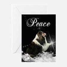 Magic Sheltie Xmas Cards (Pk of 10)