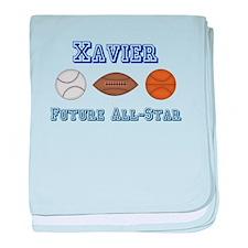 Xavier - Future All-Star baby blanket