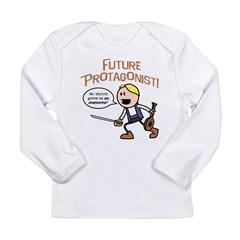 Elan: Future Protagonist Long Sleeve Infant T-Shir