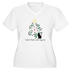 I want Alcide under my tree T-Shirt