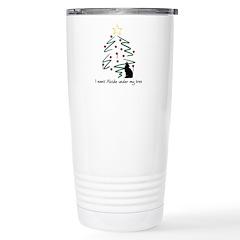 I want Alcide under my tree Travel Mug