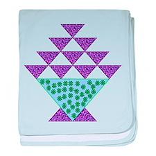 Flower Pot Quilt baby blanket