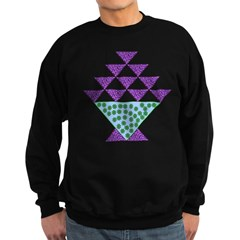 Flower Pot Quilt Sweatshirt