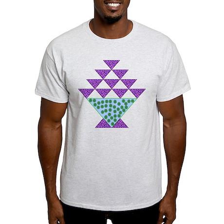 Flower Pot Quilt Light T-Shirt