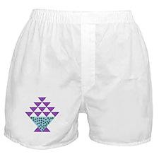 Flower Pot Quilt Boxer Shorts
