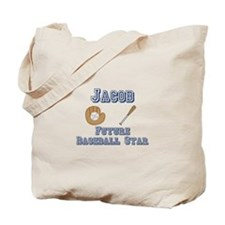 Jacob - Future Baseball Star Tote Bag