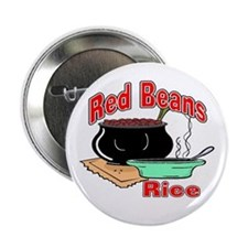 "Red Beans and Rice 2.25"" Button (10 pack)"