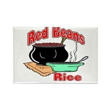 Red Beans and Rice Rectangle Magnet (10 pack)