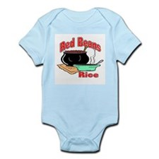Red Beans and Rice Infant Creeper
