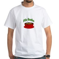 New Orleans Cooking White T-shirt