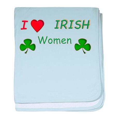 Love Irish Women baby blanket
