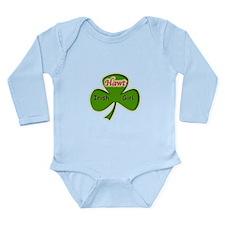 Hawt Irish Girl Long Sleeve Infant Bodysuit
