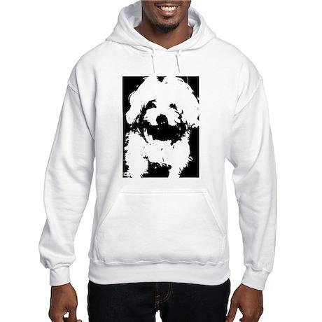 Maltese Dog Hooded Sweatshirt