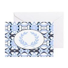 laurel wreath:(graphic) Greeting Cards (Pk of 20)