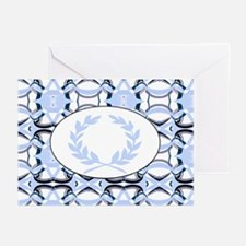 laurel wreath:(graphic) Greeting Cards (Pk of 10)