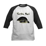 Turtles Rock Kids Baseball Jersey